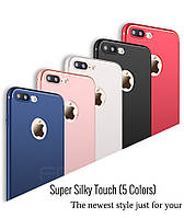 Чехлы для iPhone 7 8 силиконовые ультратонкие матовые