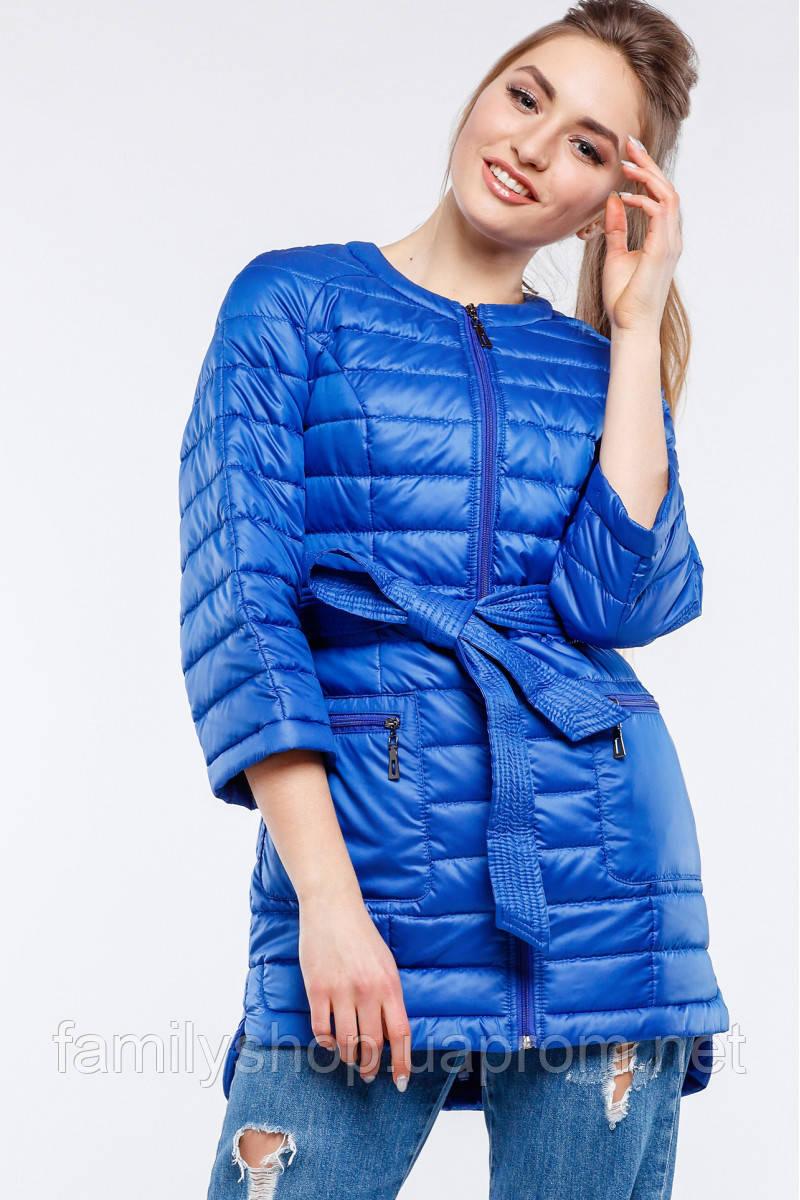 Осенняя удлиненная куртка  Белла  Nui Very (Нью вери)