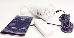 Светодиодная лампа-фонарь GDLITE GD-5007.  Лампа с солнечной панелью. Яркое освещение. Экономка.