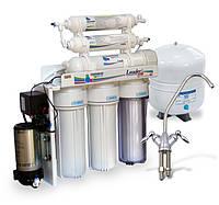 Фильтр для очистки воды - система обратного осмоса Leader Standard RO-6 pump МТ18 , фото 1
