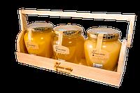 Мед подарочный набор 3 баночки