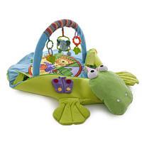 """Развивающий игровой коврик-трансформер """"Крокодил"""" 4 в 1 Biba Toys, фото 1"""