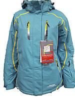 Куртка горнолыжная женская Snow Headquarter Model: B-8006 Color: Blue-Yellow