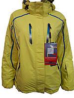 Куртка горнолыжная женская Snow Headquarter Model: B-8006 Color:Yellow/Blue