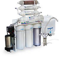 Фильтр для очистки воды - система обратного осмоса Leader Standard RO-6 bio pump, фото 1