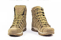 Ботинки зимние полностью кожаные, гидрофобный нубук, утеплитель Foiltex, 18 Фисташка