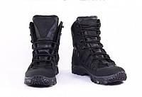Ботинки зимние полностью кожаные, гидрофобный нубук, утеплитель Foiltex, 8 Штурм
