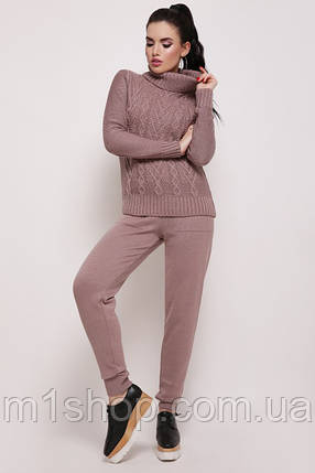 98e2fb47f8e Женский вязаный костюм свитер и штаны (Nika fup) купить недорого ...