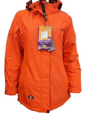 Куртка горнолыжная женская Snow Headquarter Model: B-8079 Color: Orange , фото 2