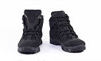 Ботинки зимние тактические, полностью кожаные, гидрофобный нубук, утеплитель Foiltex, 4 Штурм