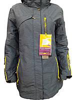 Куртка горнолыжная женская Snow Headquarter Model: B-8271 Color: Blue/Yellow