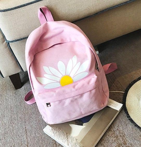 Рюкзак женский Ромашка (розовый)