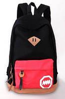 Рюкзак женский MM (черный)