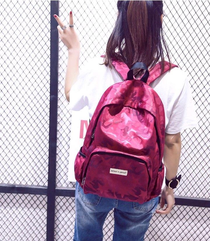 Рюкзак Звезды (красный)