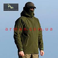 Куртка тактическая софт шелл. Оригинальная ткань soft shell (ветровлагозащитная)