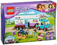 Конструктор 41125 Lego Friends Ветеринарная машина для лошадок
