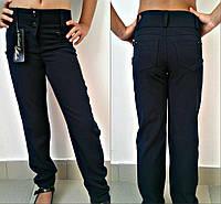 Школьные брюки для девочек ММ-465 черные