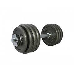 Гантель наборная железная 20 кг DUMBELL SET LS2311-20