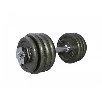 Гантель наборная железная 20 кг DUMBELL SET LS2311-20, фото 2