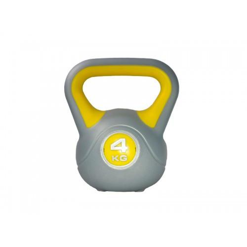 Гиря пластиковая насыпная 4 кг PLASTIC KETTEL BELL LS2047-4