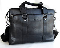 Уценка!! Изъян! Мужская сумка-портфель Armani, формат А4. Сумка для документов. УЦКС3, фото 1