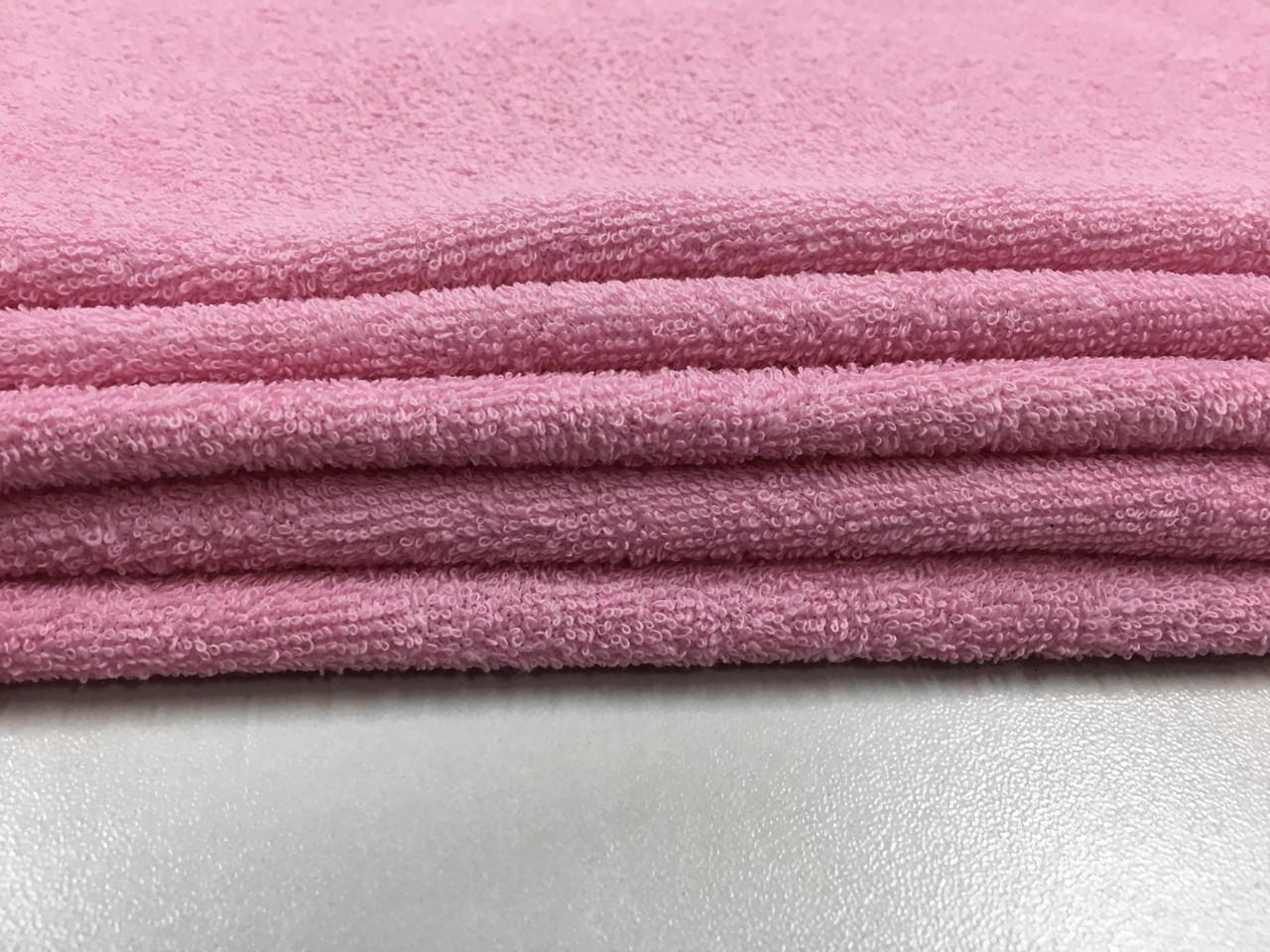 Ткань махровая розовая 20х40