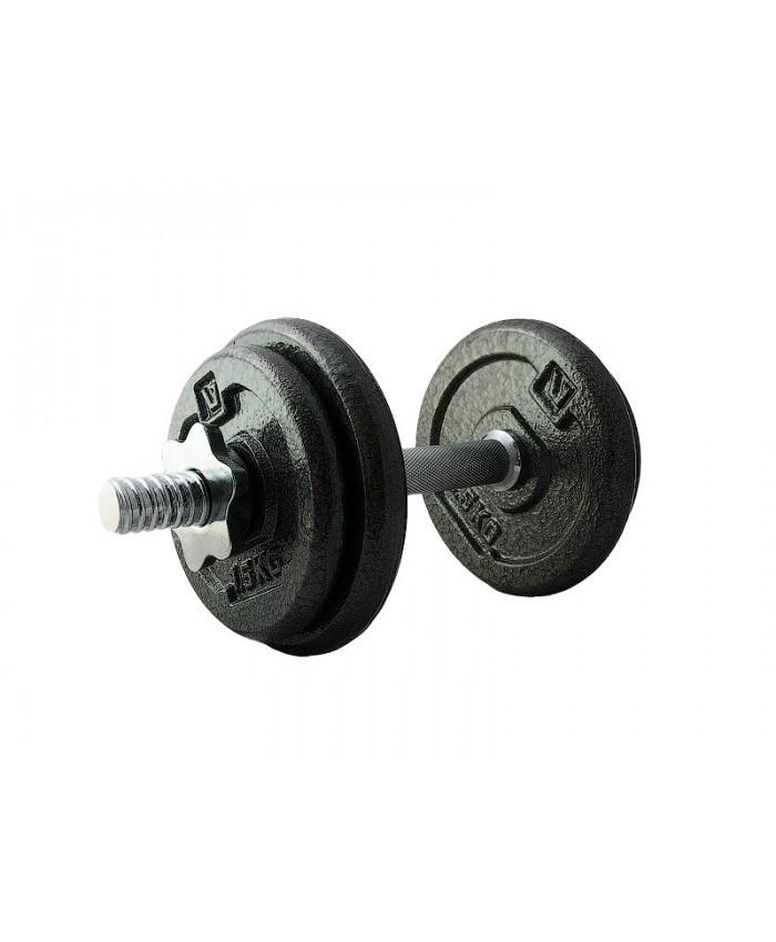 Гантель набірна залізна 10 кг DUMBELL SET LS2311-10