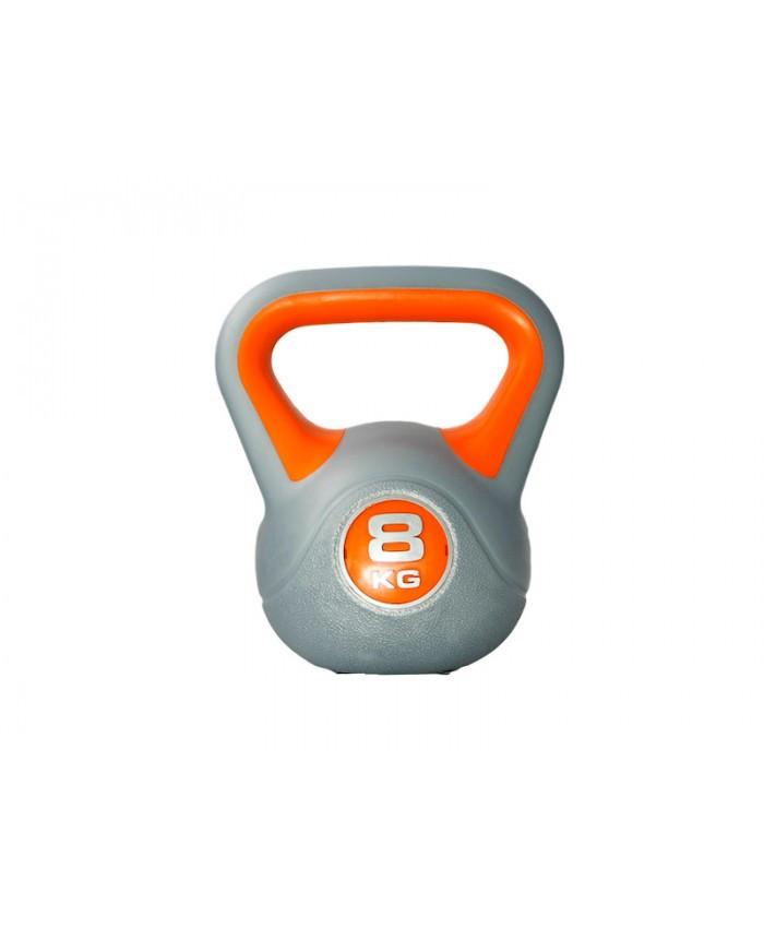 Гиря пластиковая насыпная 8 кг PLASTIC KETTEL BELL LS2047-8