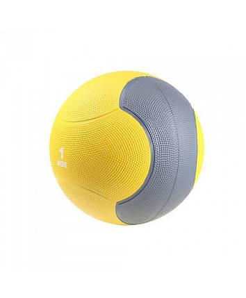 Медбол твердый 1 кг MEDICINE BALL LS3006F-1, фото 2