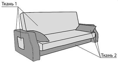 Диван Чарли 2 с подлокотниками, фото 3