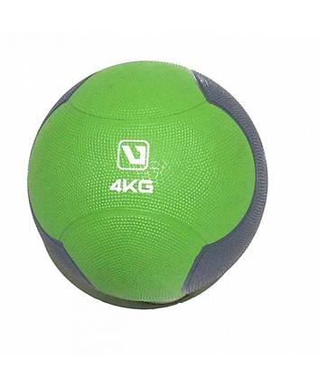 Медбол твердый 4 кг MEDICINE BALL LS3006F-4, фото 2