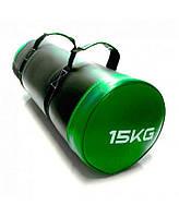 Мешок для кроссфита LiveUp Core Bag 15 кг Green (LS3093-15)