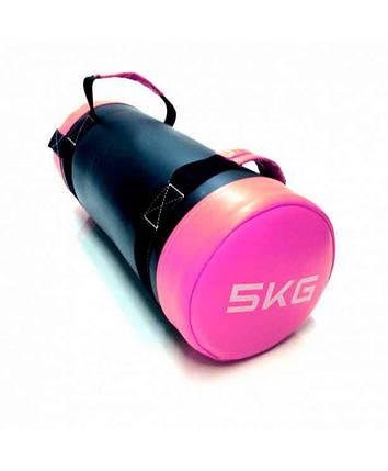Мешок для кроссфита LiveUp Core Bag 5 кг Purple (LS3093-5), фото 2