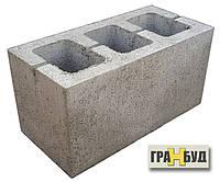 Блок строительный серый