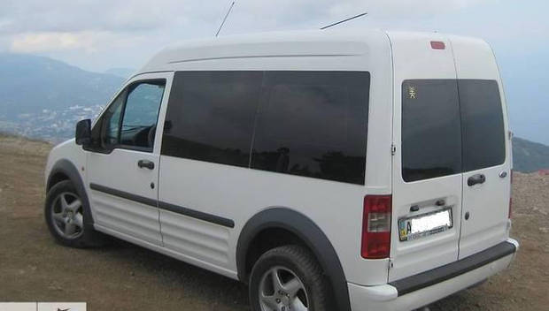 Задний салон, левое окно, длинная база Ford Transit (Tourneo) Connect 2003-2024