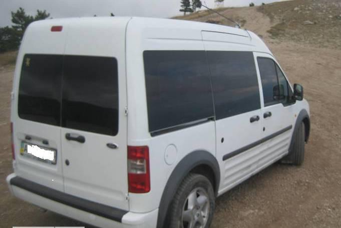 Задний салон, правое окно, длинная база Ford Transit (Tourneo) Connect 2003-2023