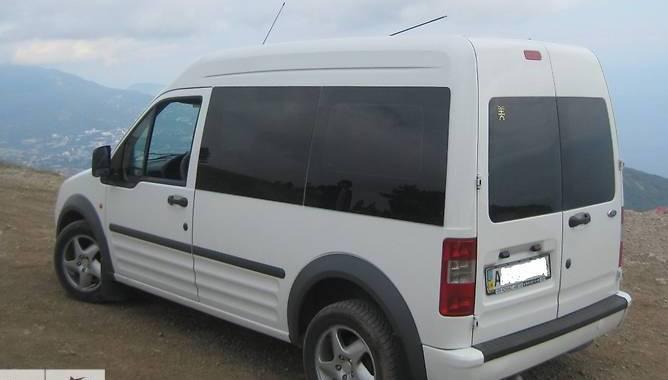 Передний салон, левое окно, длинная база Ford Transit (Tourneo) Connect 2003-2020
