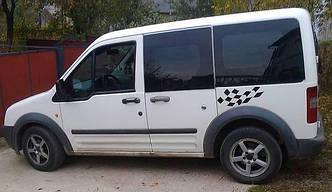 Передний салон, левое окно, короткая база Ford Transit (Tourneo) Connect 2003-2015