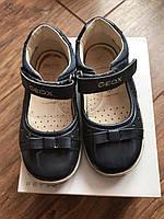 Кожаные туфли для девочки GEOX, б/у
