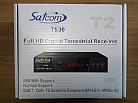 Т2 тюнер Satcom T530 DVB-T2 AC3