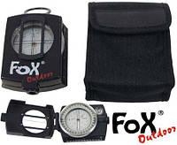 """Компас с визиром в металлическом корпусе Fox Outdoor """"Precision"""" 34043"""