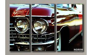 Модульная картина на холсте Cadillac Eldorado (HAT-132)