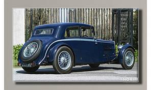 Картина на холсте Aston Martin 1934 (HAS-213)