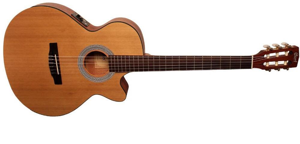 Класична гітара з вбудованим керамічним пьезозвукоснимателем CORT CEC1 (OP)