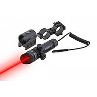 Лазерный целеуказатель. Лазерный прицел для винтовок, пистолетов, красный луч. JG1/3R (КР ЛУЧ).