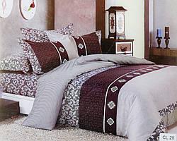 Комплект постельного белья Vie Nouvelle Classic Сатин  200х220 CL28