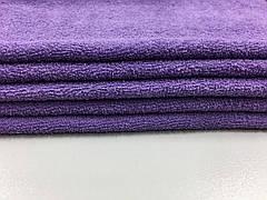 Ткань махровая фиолетовая 20х40