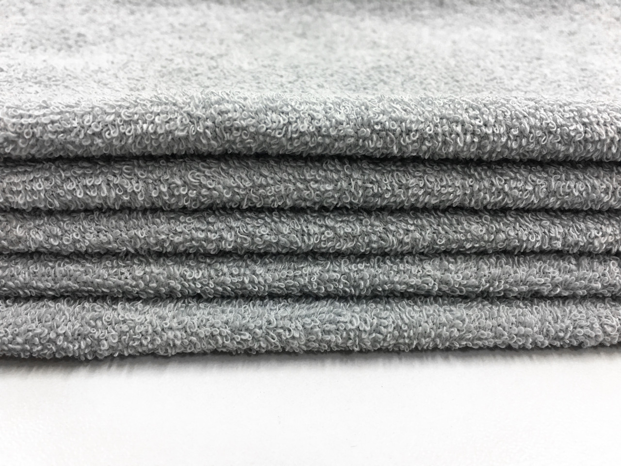 Ткань махровая сіра 20х40