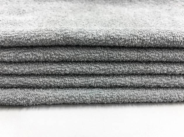Ткань махровая серая 20х40, фото 2