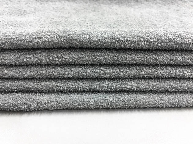 Ткань махровая сіра 20х40, фото 2